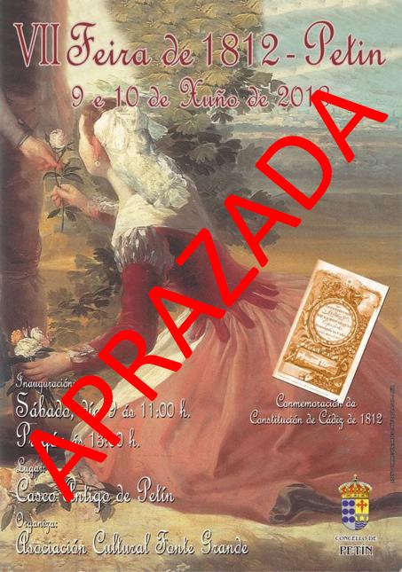 APLAZAMENTO DA FEIRA DE 1812