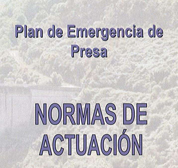 PLAN DE EMERGENCIA DE PRESA. PRESA DE SANTA EULALIA