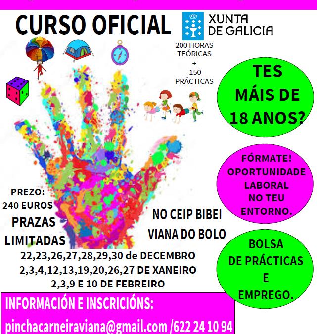 CURSO DE MONITOR/A DE ACTIVIDADES DE TIEMPO LIBRE