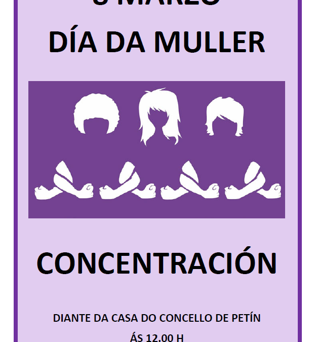 8 DE MARZO. DÍA DA MULLER. CONCENTRACIÓN