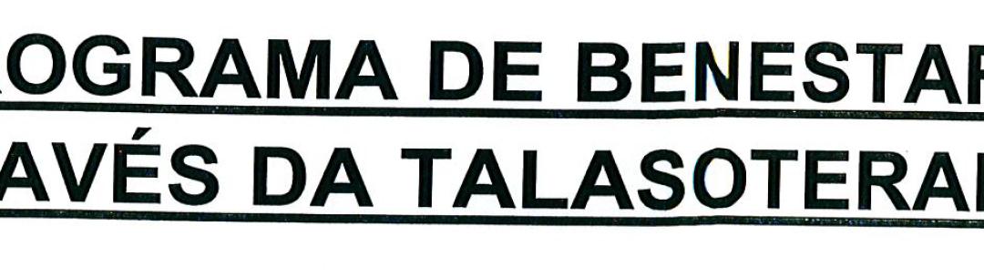 PROGRAMA DE BIENESTAR A TRAVÉS DE LA TALASOTERAPIA