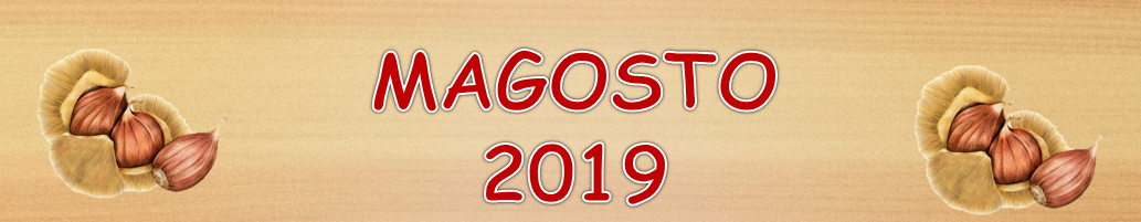 MAGOSTO 2019