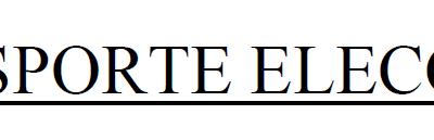 TRASPORTE ELECTORAL 10 DE NOVEMBRO DE 2019