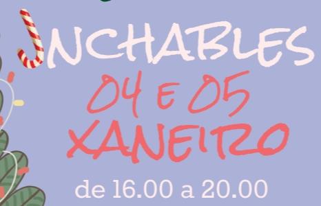 INCHABLES NAVIDAD PETIN 4 E 5 DE XANEIRO DE 2020